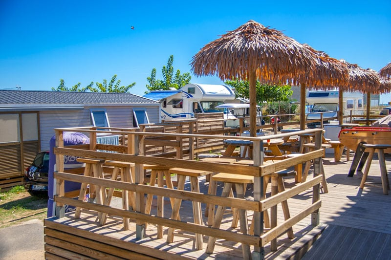 location de camping mobil home marseillan plage dans l 39 h rault. Black Bedroom Furniture Sets. Home Design Ideas